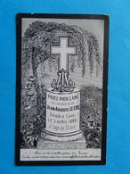 GENEALOGIE FAIRE PART DECES  MEMOIRE 1892 CAEN LECOQ - Avvisi Di Necrologio