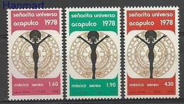 Mexico 1978 Mi 1593-1595 Postfris  - Stamps