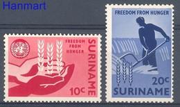 Suriname 1963 Mi 431-432 MNH  - Landbouw