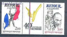 Frankrijk 1985 Mi 2499-2500 Postfris  - WW2