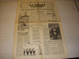 CANARD ENCHAINE 2475 27.03.1968 George SAND Boris VIAN L'ECUME Des JOURS BELMONT - Politics