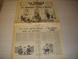 CANARD ENCHAINE 2499 18.09.1968 ARAGON Jean DUTOURD Joseph DELTEIL Monte HELLMAN - Politics