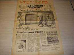 CANARD ENCHAINE 2508 20.11.1968 RADIO La GUERRE RTL EUROPE 1 Jean ANOUILH - Politics