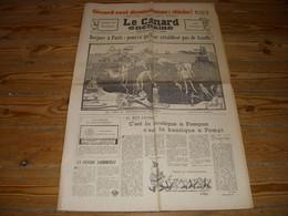 CANARD ENCHAINE 2555 15.10.1969 Edith PIAF Jean ANOUILH Aristide BRUANT - Politics