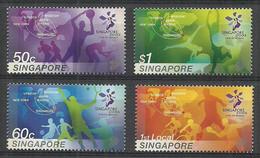 Singapore 2005 Mi 1423-1426 Postfris  - Gymnastiek