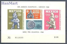 Mexico 1965 Mi Block 3 MNH  - Sculpture