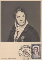Carte  Maximum   FRANCE    Jacques - Louis   DAVID   Musée  Postal    PARIS   1950 - 1950-59