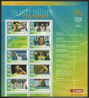 Australie 2006 Mi Feuille 2578-2586 Neuf Sans Charnière  - Gymnastiek