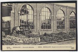 5183 . SERMAIZE . SUCRERIE DETRUITE . 1914 . MILITARIA - Autres Communes