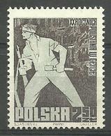 Polen 1963 Mi 1391 Postfrisch  - WW2