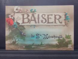 51139 . SAINTE MENEHOULD . UN BAISER . 1919 . - Sainte-Menehould