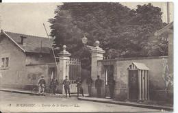 [38] Isère > Bourgoin Entree De La Gare ??? Rare - Bourgoin