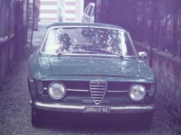 DA VEDERE 2 SCAN A VOIR AUTO EPOCA VINTAGE CAR VOITURE ALFA ROMEO GIULIETTA VERDE GREEN VERT GRÜN TARGA GENOVA - Automobiles