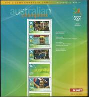 Australien 2006 Mi Blatt 2556-2559 Postfrisch  - Gymnastiek