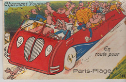 62 PARIS PLAGE ( Charmant Voyage En Route Pour... ) - Móviles (animadas)