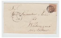 1854--DANEMARK -- Fire RBS  -- N° Stpl 52 -- - Gebraucht