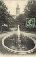CASTELNAUDARY  Le Square Victor Hugo Recto Verso - Castelnaudary
