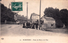76 - Seine Maritime - MAROMME - Route Du Havre Et Le Pont - Maromme