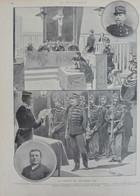 L'affaire Dreyfus - Le Procès De Décembre - Le Cap. Alfred Dreyfus - Page Originale 1899 - Documentos Históricos