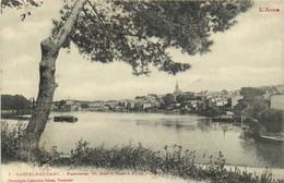 L'Aude CASTELNAUDARY  Panorama Du Grand Bassin Et La Ville Labouche RV - Castelnaudary