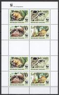NW439 2010 TOGO WWF PANGOLINS WILD ANIMALS FAUNA #3454-3457 KB MNH - Ungebraucht