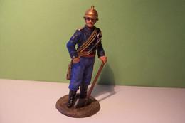 POMPIER  -SOLDAT DE PLOMB - SAPEUR POMPIER DE PARIS - Tenue De Feu  - 1885  - DELPRADO - Soldados De Plomo