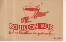 Buvard Bouillon Kub Le Bon Bouillon De Pot Au Feu Pour 1/2 Litre Bol De Soupe Potage - Soups & Sauces