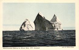 Grönland, Schwimmender Eisberg Im Offenen Meer, NW Grönland, Phot. Dr. Arnold Heim - Groenlandia