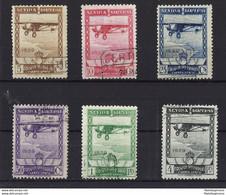 ESPAÑA 448/53 En Usado. Cat.158 € - Used Stamps