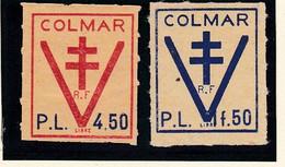 LIBERATION : VIGNETTES DE COLMAR - Liberación