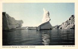 Grönland, Schwimmende Eisberge Im Vaigat-Sund, Phot. Dr. Arnold Heim - Groenlandia