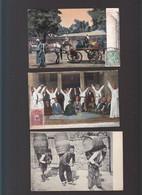 Syrie / Lot De 3 CP / Stamboul, Constantinople, Derviches Tourneurs, Hamals, Native Omnibus - Turkmenistan