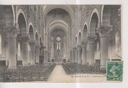 CPA-35-Ille Et Vilaine- JANZE- Intérieur De L'Eglise- - Otros Municipios
