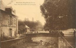 """CPA FRANCE 58 """" Moulins Engilbert, Vieux Pont Du Guichet Sur Le Guignon"""". - Moulin Engilbert"""