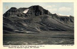 Grönland, Basaltberg Ivissusset Und Kingitoarsuk, Südseite Der Halbinsel Nugsuak, Phot. Dr. Arnold Heim - Groenlandia