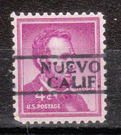 Locals USA Precancel Vorausentwertung Preo, Locals California, Nuevo 811 - Precancels