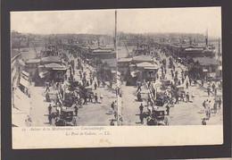 Turquie  / Constantinople / Vue Stéréoscopique / Pont Galata / Mauvais état - Turkmenistan