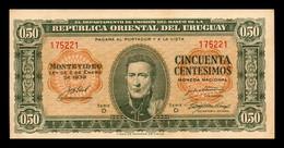 Uruguay 50 Centésimos 02.01.1939 Pick 34 Serie D MBC VF - Uruguay