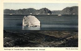 Grönland, Inselberge Im Umanak-Fjord, Von Karsuarsuk Aus, Phot. Dr. Arnold Heim - Greenland