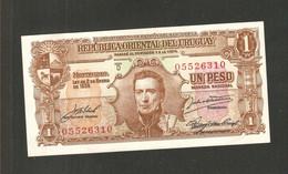 Uruguay, 1 Peso, 1939-1966 Issue Ley De 2 De Enero De 1939 - Uruguay