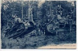 Chars D'Assauts Au Repos-Camp De La Courtine - Material