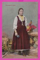 263028 / Bulgaria Ihtiman Ichtiman -  Folk Costumes Woman , Bulgarie Bulgarien Bulgarije - Bulgarie