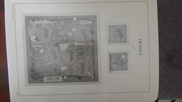 S146 Reliure + étui LEUCHTTURM Vide De Timbre De France De 2010 à 2012 A Saisir !!! - Colecciones (en álbumes)