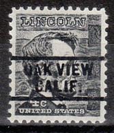Locals USA Precancel Vorausentwertung Preo, Bureau California, Oak View 729 - Precancels