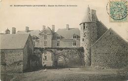 50 , ST SAUVEUR LE VICOMTE , Chateau De Crosville , * 414 04 - Saint Sauveur Le Vicomte