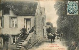 50 , BREVILLE , Le Village De L'église , * 416 52 - Other Municipalities