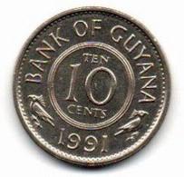 1991 - Guyana 10 Cents - Guyana