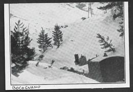 1934  --  TRAIN PRIS DANS LA NEIGE A BOCOGNANO . 3V434 - Unclassified