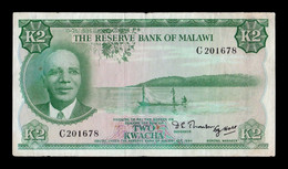 Malawi 2 Kwacha L.1964 (1971) Pick 7 BC F - Malawi