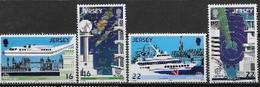 Jersey 1988 N° 429/432 Neufs  Europa Transports Et Communications - 1988